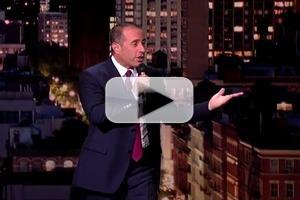 STAGE TUBE: Jerry Seinfeld Performs Stand-Up on the Late Show with David Letterman