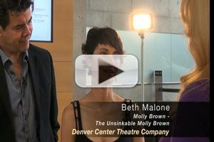 STAGE TUBE: Backstage with THE UNSINKABLE MOLLY BROWN's Beth Malone and More
