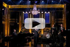 VIDEO: Tony Bennett Performs Medley of Songs from 'Cheek to Cheek' on TONIGHT SHOW