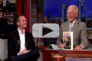 VIDEO: Neil Patrick Harris Talks New Book, Dry Humping in HEDWIG on 'Letterman'