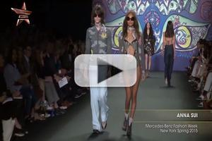 VIDEO: Anna Sui NYFW Spring 2015
