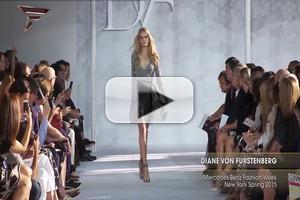 VIDEO: Diane Von Furstenberg Mercedes Benz Fashion Week New York S/S 2015