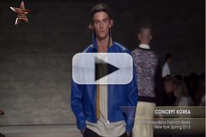 VIDEO: Concept Korea Mercedes Benz Fashion Week New York Spring 2015