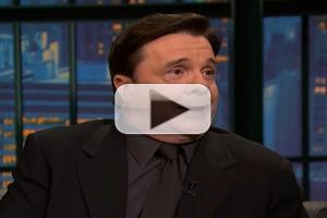 VIDEO: Nathan Lane Chats 'It's Only A Play' & More on LATE NIGHT