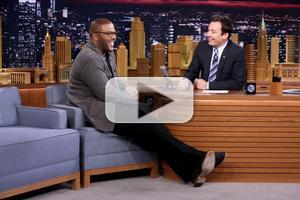 VIDEO: Tyler Perry Races Drones, Talks 'Gone Girl' on TONIGHT SHOW