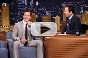 VIDEO: Miles Teller Talks New Film 'Whiplash' on TONIGHT SHOW