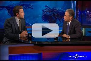 VIDEO: Ben Affleck Scolds Jon Stewart for Ruining 'Gone Girl' & 'Batman' Plots: 'Are You Kidding Me?'