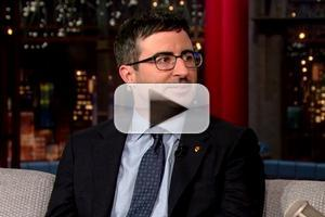 VIDEO: John Oliver Explains British Soccer to Dave on LATE SHOW