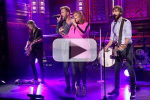 VIDEO: Lady Antebellum Performs 'Bartender' on TONIGHT SHOW