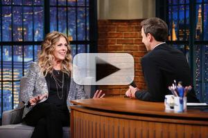 VIDEO: Rita Wilson Talks Cafe Carlyle Debut & More on LATE NIGHT