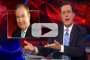 VIDEO: Stephen Calls Bill O'Reilly a 'F—–g Egomaniac' on COLBERT REPORT