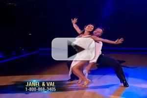 VIDEO: Janel Parrish Honors Mentor in Emotional Rumba Performance on DWTS
