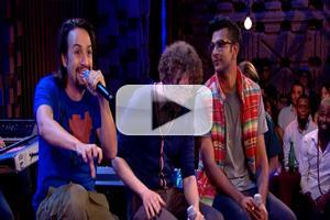 BWW TV Exclusive: Watch Lin-Manuel Miranda & More Spit Rhymes in FREESTYLE LOVE SUPREME; Airs 10/17 on Pivot!