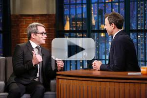 VIDEO: Matthew Broderick Talks 'It's Only A Play' & More on LATE NIGHT