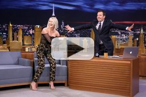 VIDEO: DWTS's Julianne Hough Helps Jimmy Find His 'Go-To' Dance Move on TONIGHT