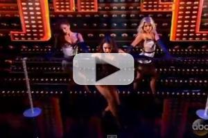VIDEO: Janel Parrish Performs Sexy Burlesque Number on Last Night's DWTS