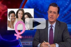VIDEO: Stephen Explains the GOP's New Attempt to Woo Women on COLBERT