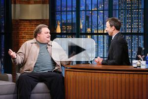 VIDEO: Artie Lange Talks Football with Snoop Dogg & More on LATE NIGHT