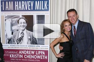 BWW TV: Andrew Lippa, Kristin Chenoweth & More Celebrate NY Premiere of I AM HARVEY MILK!