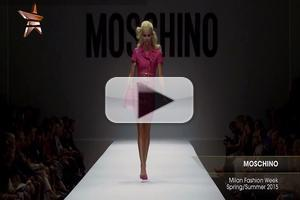 VIDEO: MOSCHINO Milan Fashion Week S/S 2015