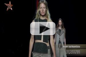 VIDEO: Mary Katrantzou London Fashion Week Spring Summer 2015