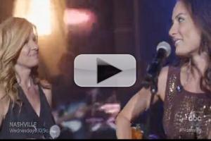 VIDEO: Watch Laura Benanti and Connie Britton Perform Duet on ABC's NASHVILLE!