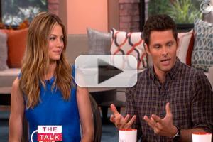 VIDEO: James Marsden & Michelle Monaghan Chat New Film 'The Best of Me' on THE TALK