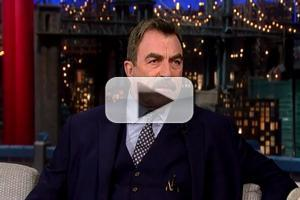 VIDEO: Tom Selleck Reveals His Celebrity Grudge on LATE SHOW