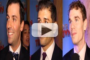 BWW TV: Chatting with the Stars of Broadway's ON THE TOWN on Opening Night!