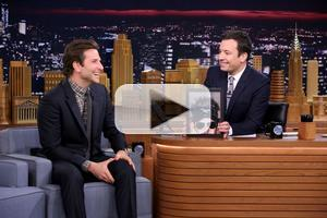 VIDEO: Bradley Cooper Talks Broadway's THE ELEPHANT MAN; Plays Egg Russian Roulette on 'Tonight'