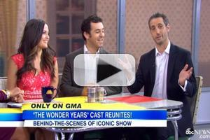VIDEO: Cast of THE WONDER YEARS Reunite on Today's GMA