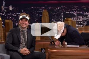 VIDEO: Bradley Cooper & Jimmy Fallon Can't Stop Laughing in Uncut TONIGHT SHOW Footage