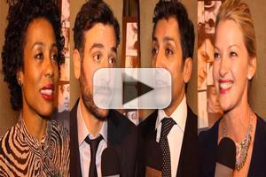 BWW TV: Chatting with the Company of DISGRACED on Opening Night- Pittman, Radnor, Dhillon, Mol & More!