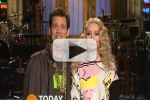 VIDEO: Sneak Peek - Jim Carrey & Iggy Azalea Prep for This Week's SNL!