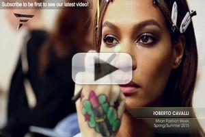 VIDEO: Roberto Cavalli Milan Fashion Week Spring Summer 2015