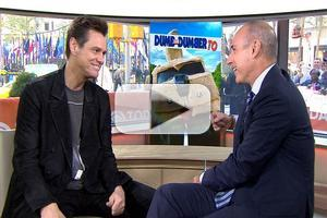VIDEO: Jim Carrey Talks DUMB & DUMBER TO on 'Today'