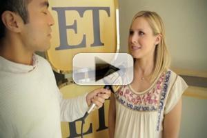 VIDEO: Kristen Bell Says She Would Play FROZEN's Anna 'Forever'