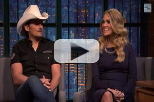 VIDEO: Brad Paisley and Carrie Underwood Talk Making Fun at Other Country Music Stars & More on LATE NIGHT
