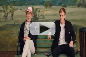 VIDEO: Ian McKellen Makes Guest Appearance in George Ezra's 'Listen to The Man' Music Video
