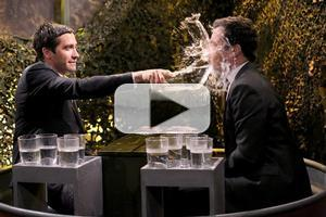 VIDEO: Jake Gyllenhaal Plays Water Wars; Talks Broadway's CONSTELLATIONS on 'Tonight'
