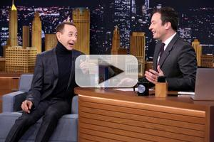 VIDEO: Paul Reubens Announces New PEE WEE Movie on 'Tonight Show'!