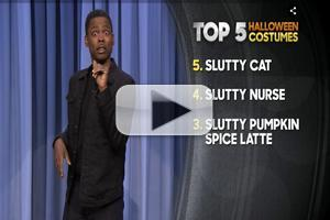 VIDEO: Chris Rock Reveals This Year's Top Halloween Costumes on TONIGHT