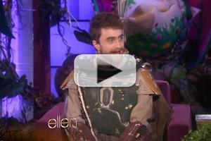 VIDEO: Daniel Radcliffe Explains Why He's Never Been Trick-or-Treating on ELLEN