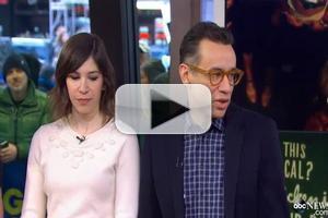 VIDEO: Fred Armisen, Carrie Brownstein Talk New PORTLANDIA Cookbook on GMA