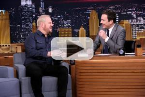 VIDEO: Comedian Jim Gaffigan Talks New Book & More on TONIGHT SHOW