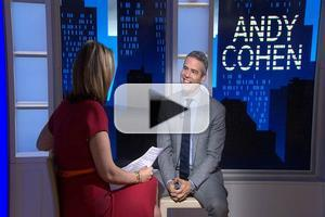 VIDEO: Andy Cohen Talks New Book; Dishes on WATCH WHAT HAPPENS on Today