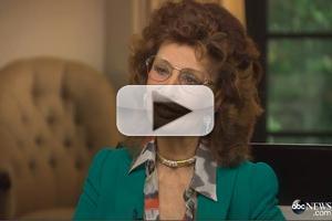 VIDEO: Sophia Loren Discusses New Memoir, Film Career in Rare Interview