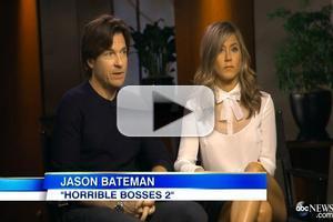 VIDEO: Jennifer Aniston and Jason Bateman Talk HORRIBLE BOSSES 2 on GMA