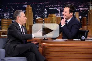 VIDEO: Jon Stewart Talks Directorial Debut Film 'Rosewater' on TONIGHT SHOW