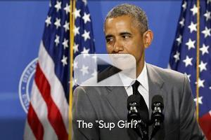 VIDEO: Jimmy Explains Obama's 'Sup Girl?' Expression & More on TONIGHT SHOW